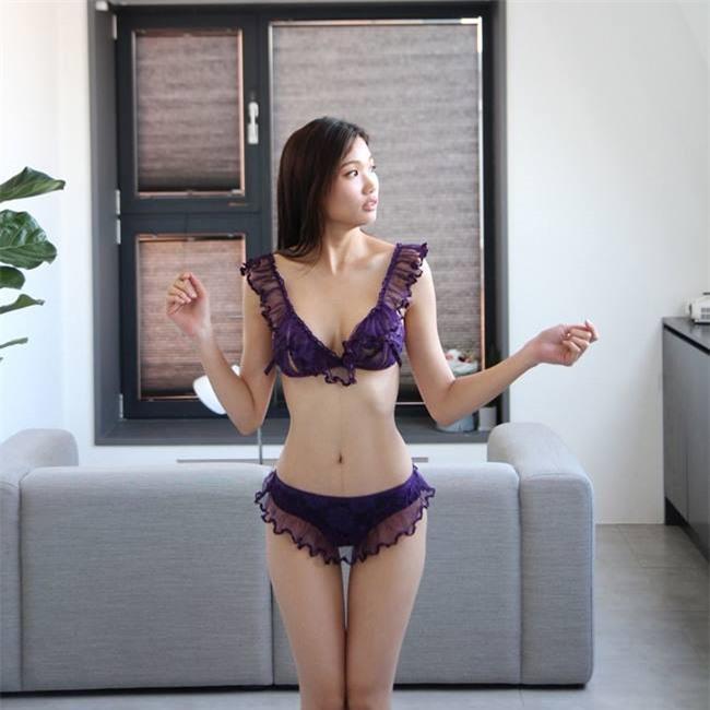 Nữ vận động viên Hàn trở thành người mẫu nội y gợi cảm Ảnh 3