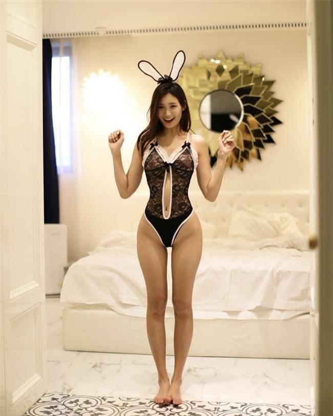 Nữ vận động viên Hàn trở thành người mẫu nội y gợi cảm Ảnh 6