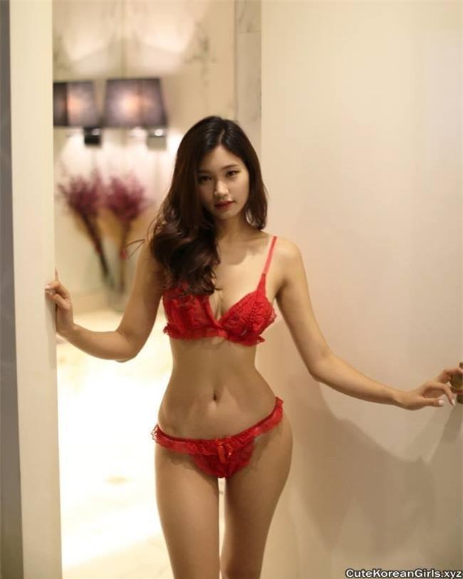 Nữ vận động viên Hàn trở thành người mẫu nội y gợi cảm Ảnh 8