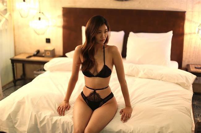 Nữ vận động viên Hàn trở thành người mẫu nội y gợi cảm Ảnh 2