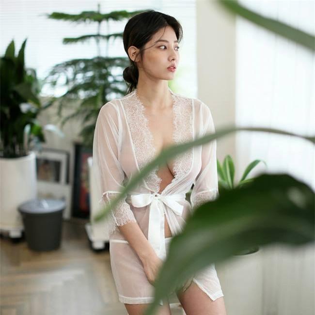 Nữ vận động viên Hàn trở thành người mẫu nội y gợi cảm Ảnh 14