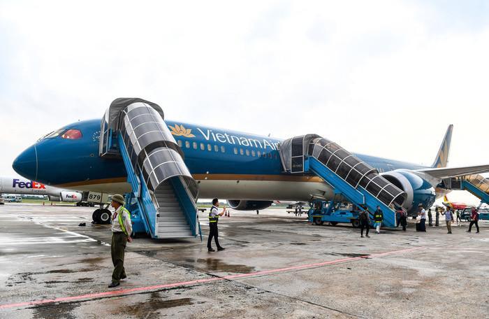 Vietnam Airlines sẽ dùng 'siêu máy bay' Boeing 787-10 đưa U22 Việt Nam về nước Ảnh 2