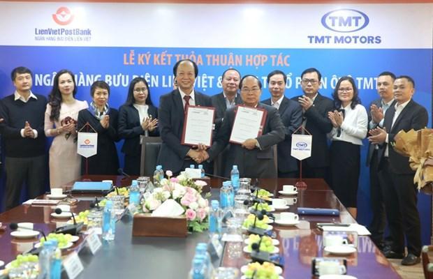 LienVietPostBank cung cấp sản phẩm ngân hàng cho Công ty TMT Ảnh 1