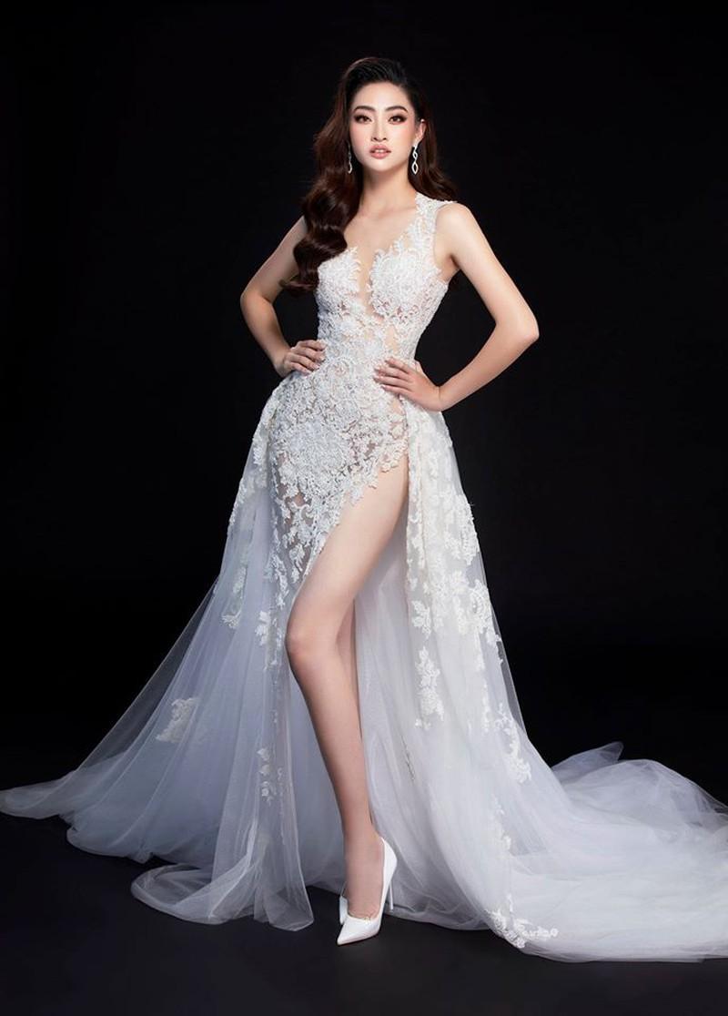 Ngắm Lương Thùy Linh trước giờ G chung kết Hoa hậu Thế giới Ảnh 3