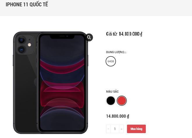 Gần Tết, iPhone 11 liên tục giảm giá Ảnh 1