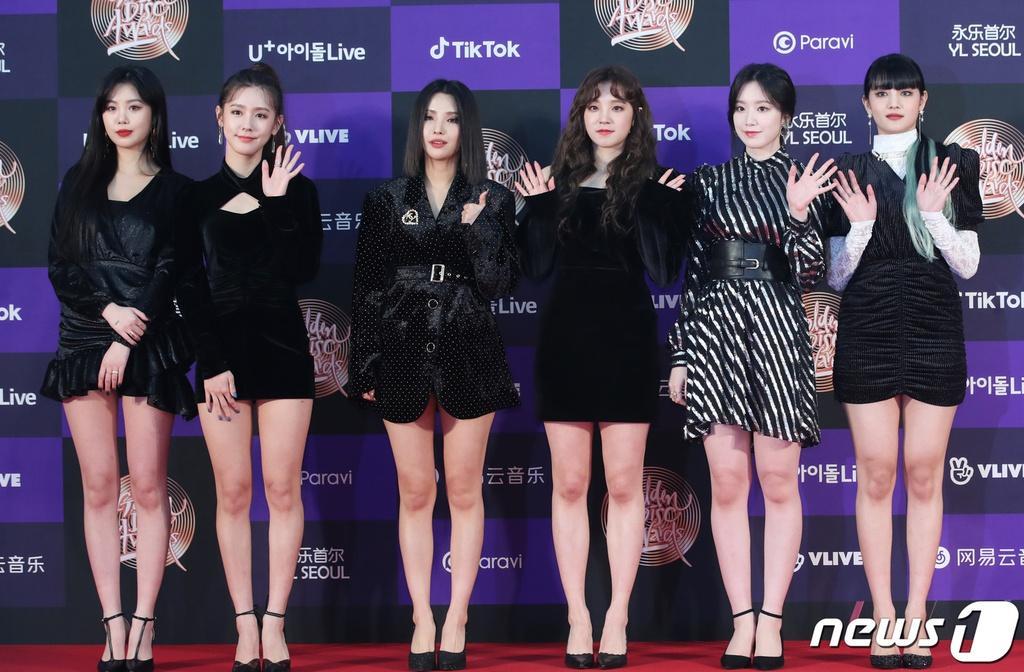 Hai gương mặt đẹp nhất thế giới hội tụ trên thảm đỏ 'Grammy Hàn Quốc' Ảnh 7
