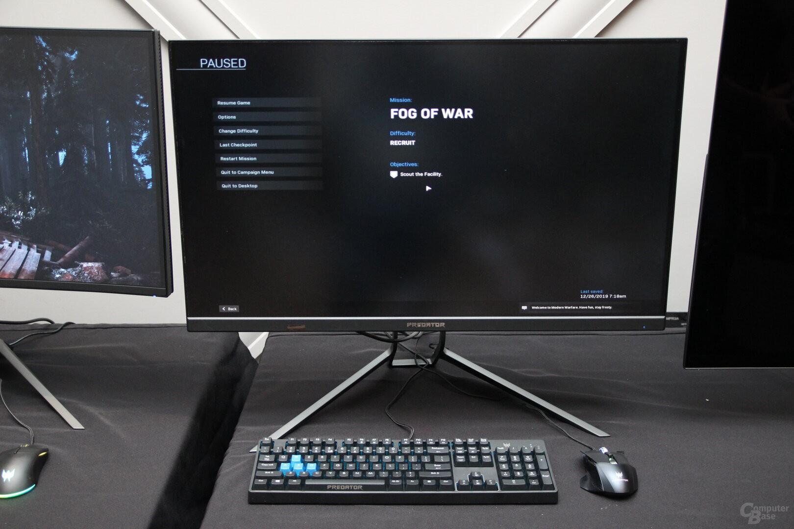 Acer giới thiệu loạt màn hình chơi game: 4K OLED, 55 inch, giá từ 2.999 USD Ảnh 2