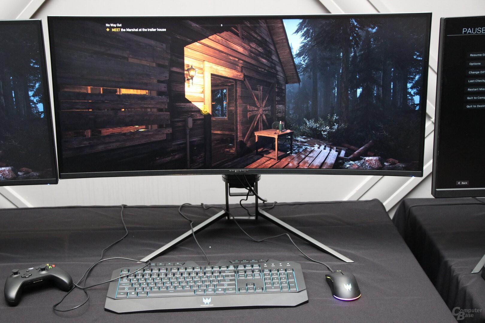 Acer giới thiệu loạt màn hình chơi game: 4K OLED, 55 inch, giá từ 2.999 USD Ảnh 3