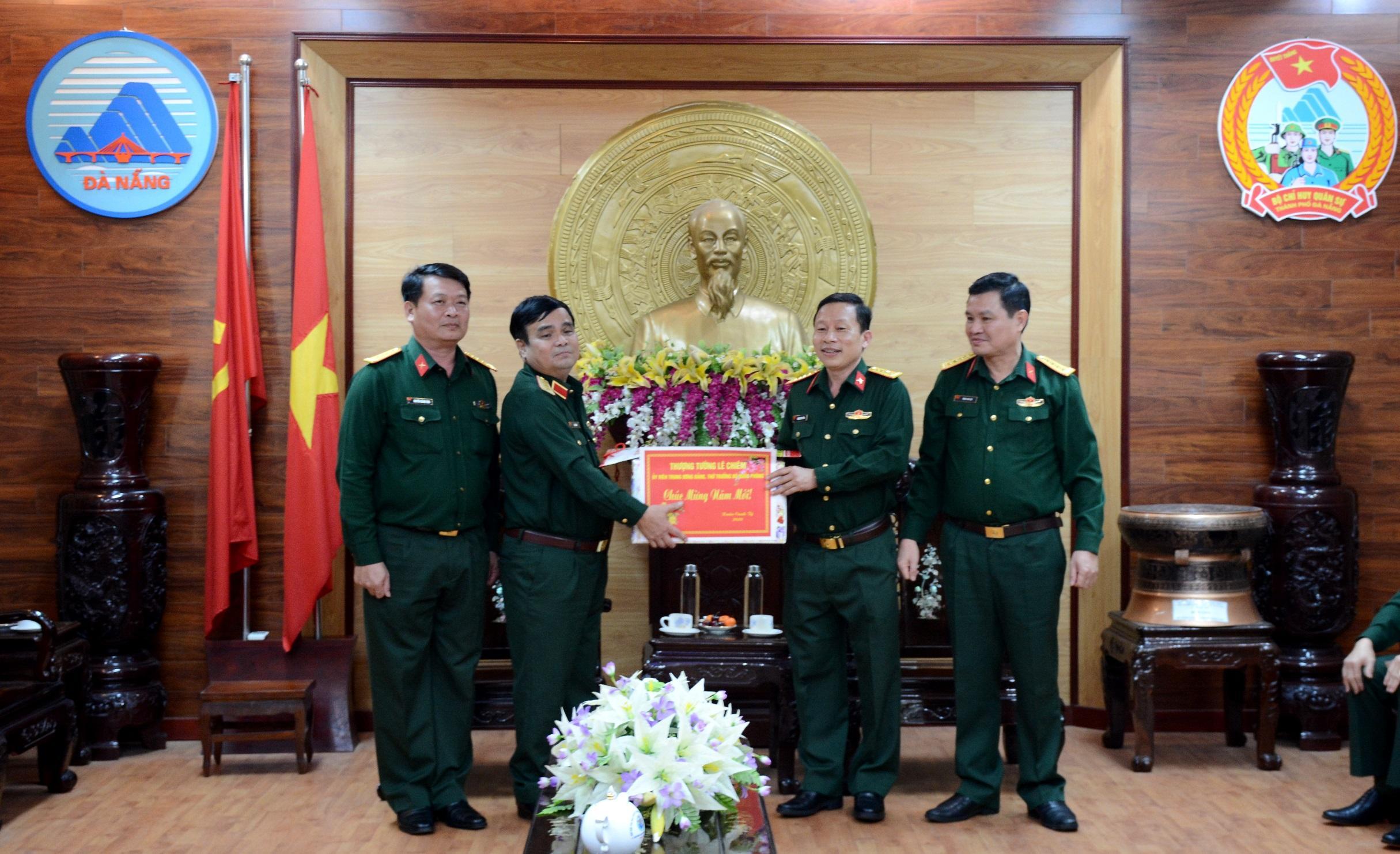 Đoàn công tác Bộ Quốc phòng kiểm tra, chúc tết tại Đà Nẵng Ảnh 1