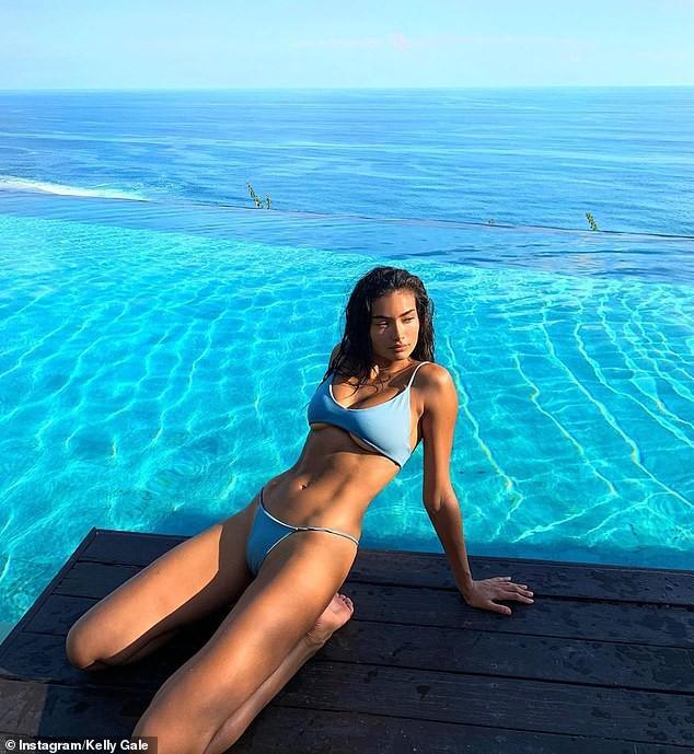 Siêu mẫu cao 1m80 Kelly Gale khoe thể hình tuyệt mỹ với bikini Ảnh 3