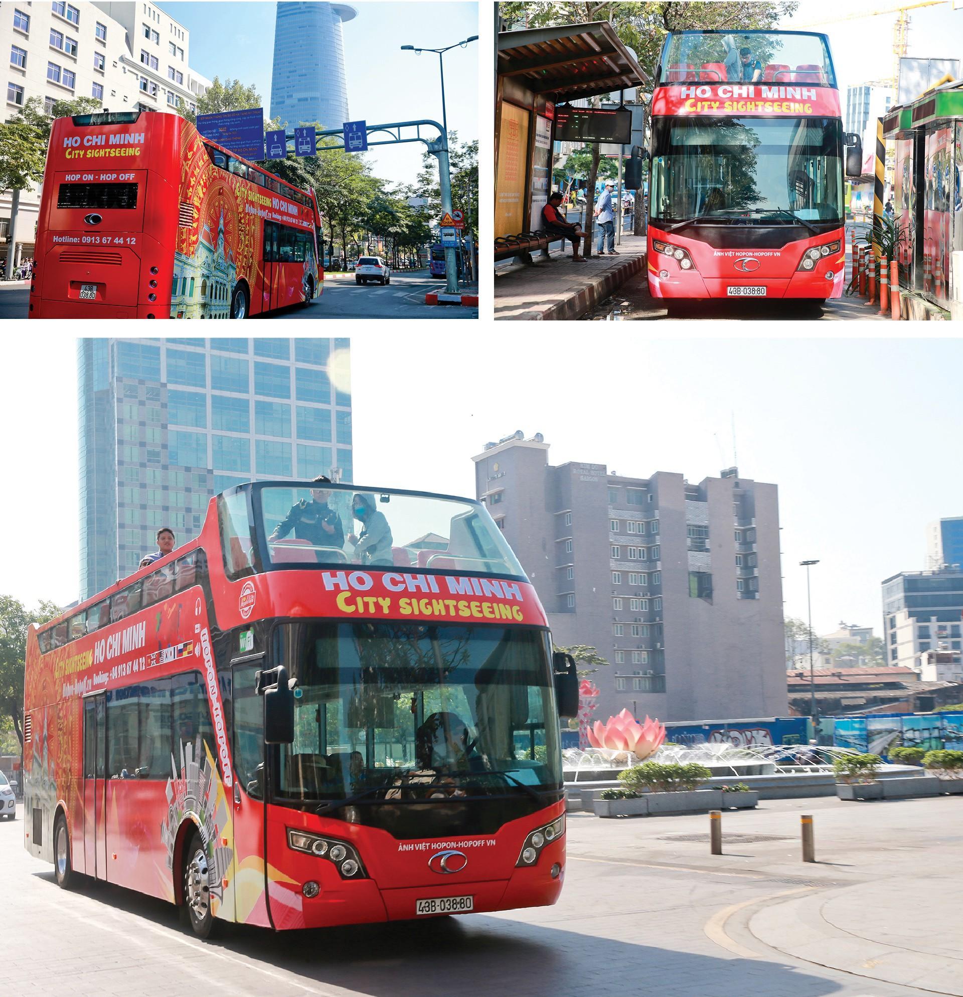 Trải nghiệm 'buýt mui trần' tại TPHCM Ảnh 8