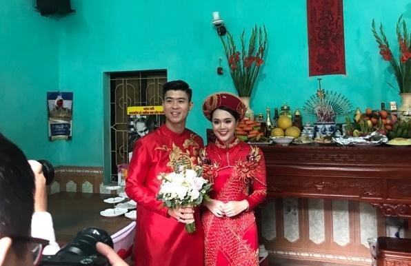 Cô dâu Quỳnh Anh rạng rỡ về nhà chồng Ảnh 3