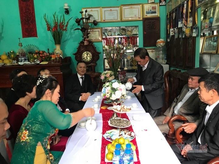 Cô dâu Quỳnh Anh rạng rỡ về nhà chồng Ảnh 2