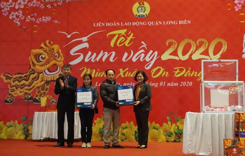Đoàn viên công đoàn, người lao động quận Long Biên: Tưng bừng đón 'Tết Sum vầy' Ảnh 7