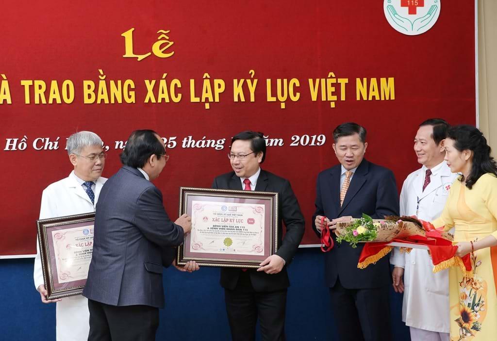 Bệnh viện Gia An 115 ghi dấu một năm thành lập với nhiều kỷ lục và kỳ tích Ảnh 2