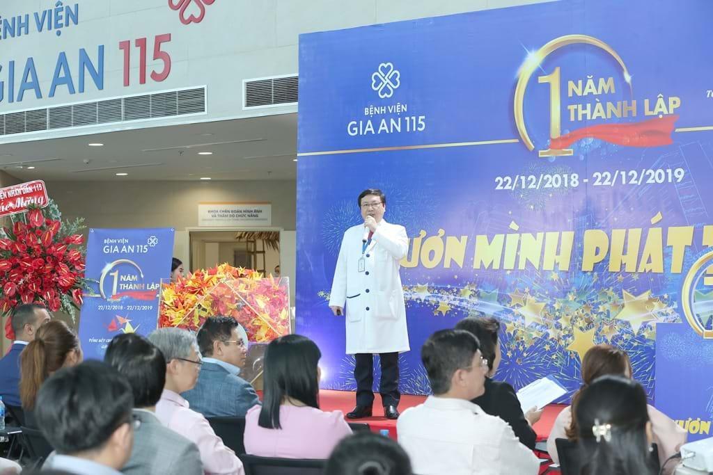 Bệnh viện Gia An 115 ghi dấu một năm thành lập với nhiều kỷ lục và kỳ tích Ảnh 5