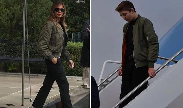 'Mượn' áo khoác của mẹ đi dự sự kiện gây quỹ, Barron Trump gây sốc vì vẻ điển trai Ảnh 1