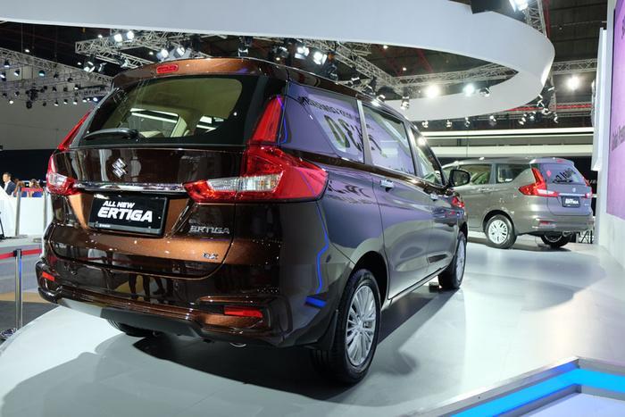 Suzuki Ertiga phiên bản mới sắp về nước, 'quyết đấu' Mitsubishi Xpander Ảnh 4