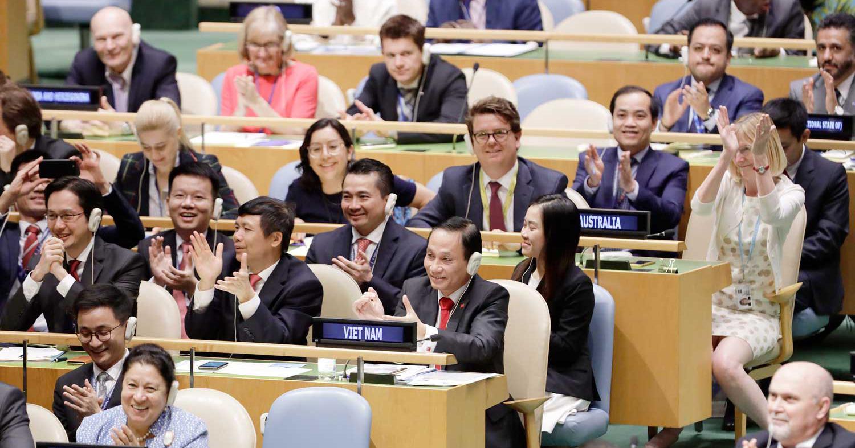 Khẳng định vị thế, nỗ lực của Việt Nam trên trường quốc tế Ảnh 1