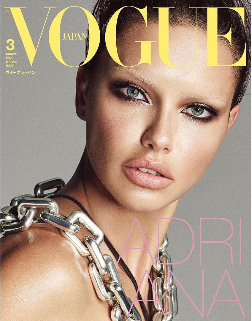 Dàn mỹ nhân chân dài Victoria's Secret đẹp xuất sắc trên Vogue Nhật Ảnh 4