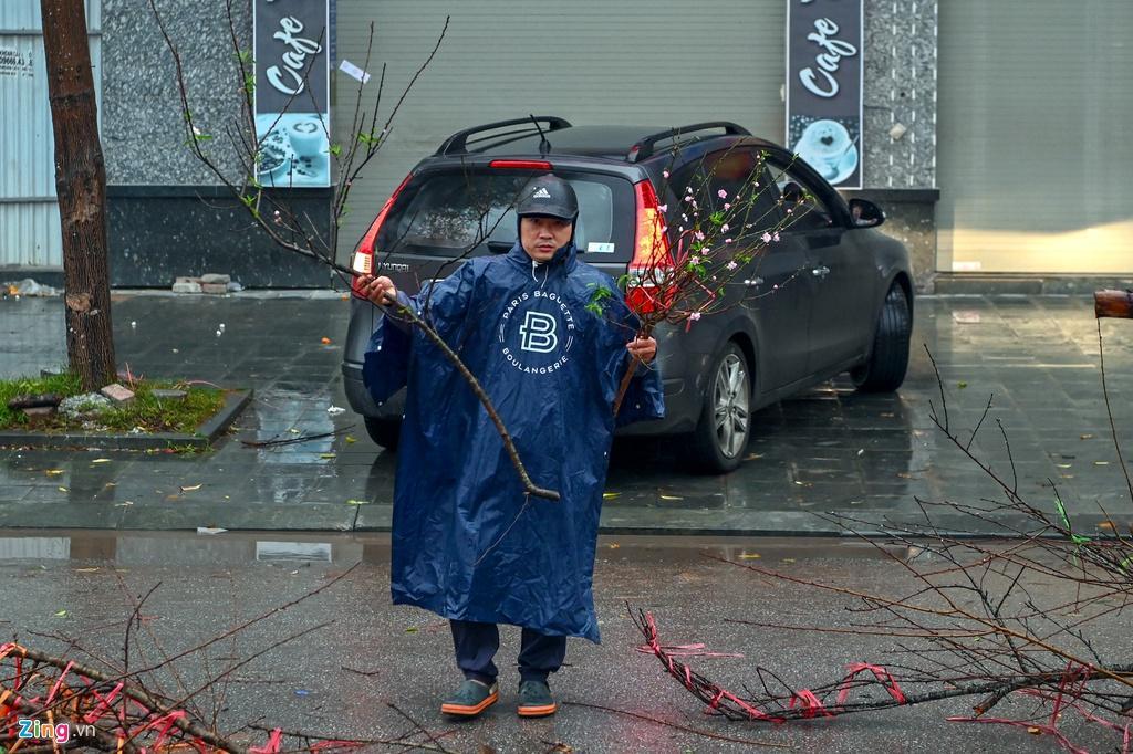 Đào rừng bị vứt bỏ, dân đánh ôtô gom chơi Tết Ảnh 4