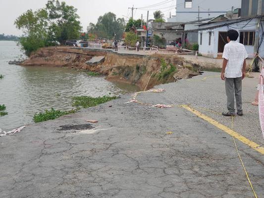 An Giang: Quốc lộ 91 lại xuất hiện vết rạn nứt kéo dài Ảnh 1