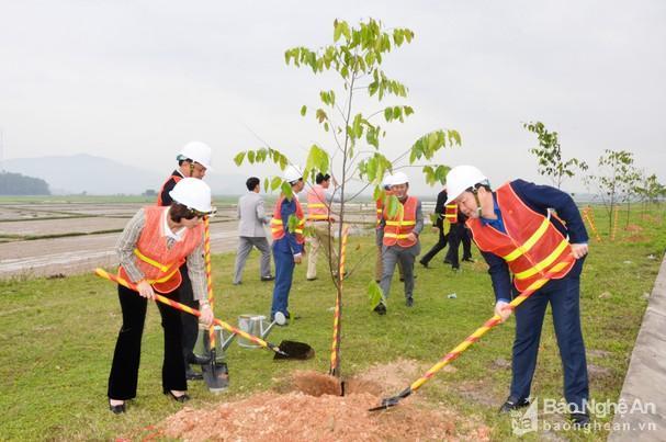 Sở GTVT Nghệ An tổ chức Tết trồng cây Ảnh 2