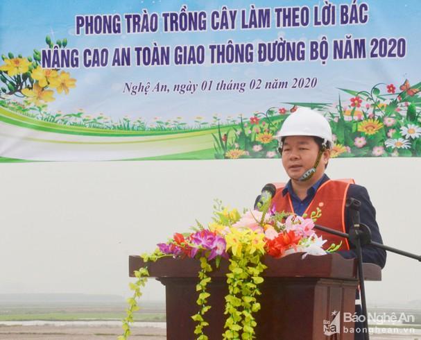 Sở GTVT Nghệ An tổ chức Tết trồng cây Ảnh 1