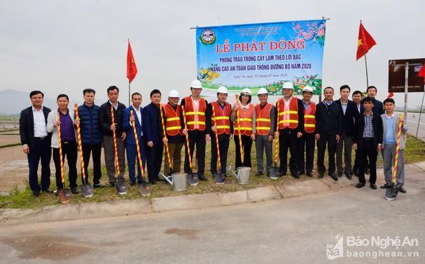 Sở GTVT Nghệ An tổ chức Tết trồng cây Ảnh 3