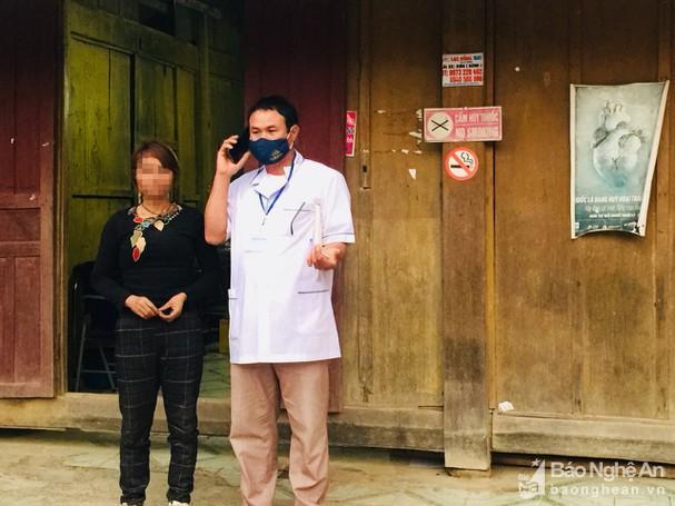 Nghệ An: Phát hiện một phụ nữ lao động ở Trung Quốc về nghỉ Tết có biểu hiện sốt, ho Ảnh 1