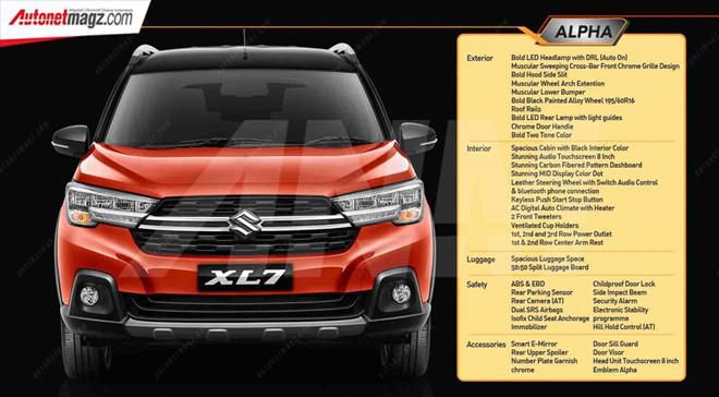 Cận cảnh Suzuki XL7, đối thủ mới của Mitsubishi Xpander Cross Ảnh 7