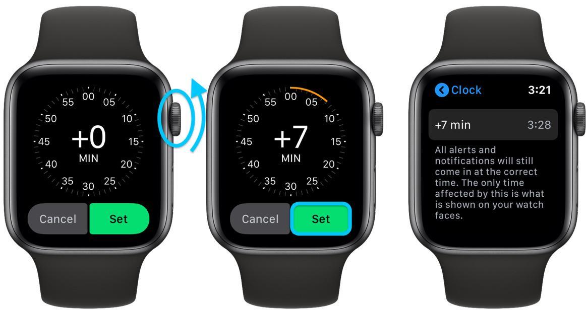 Cách chỉnh giờ trên Apple Watch sớm hơn giờ thực tế Ảnh 3