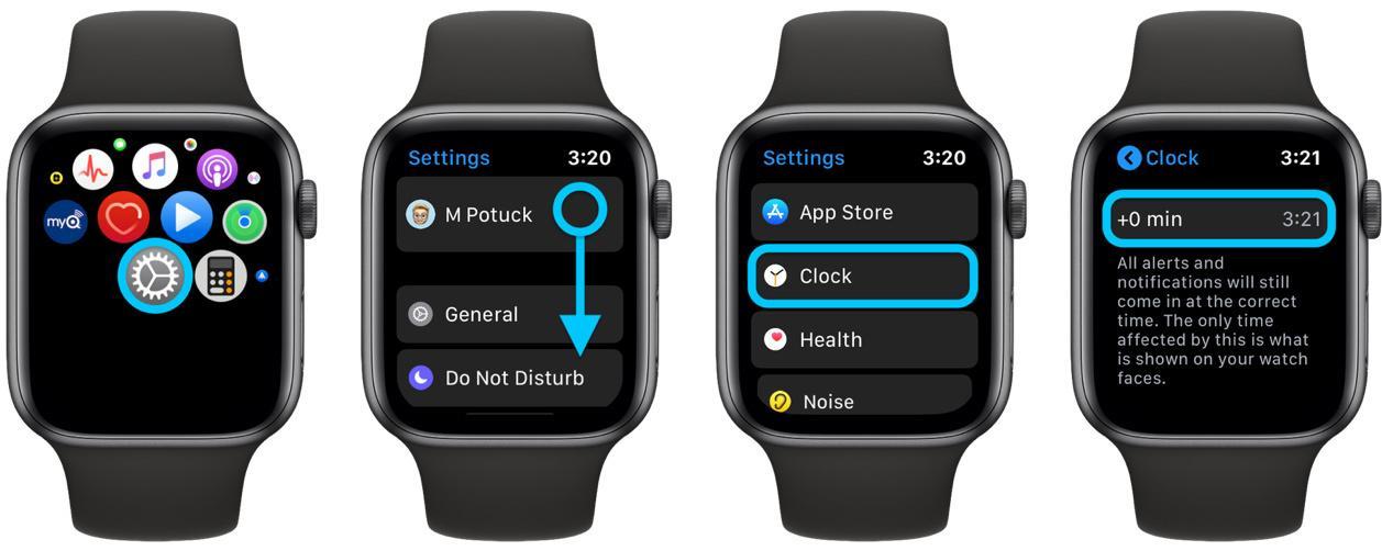 Cách chỉnh giờ trên Apple Watch sớm hơn giờ thực tế Ảnh 2