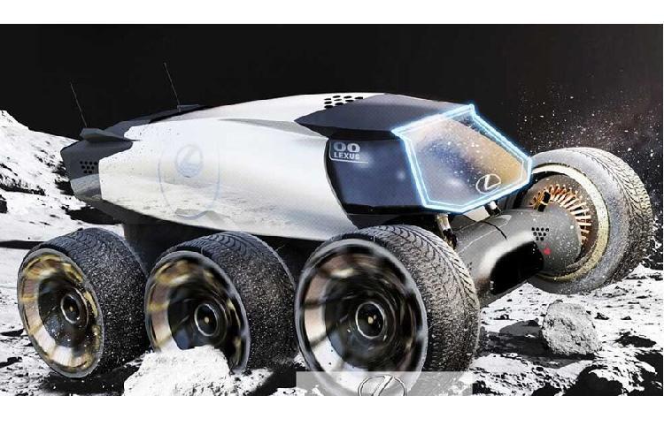 Bất ngờ ý tưởng ôtô lăn bánh thám hiểm Mặt trăng Ảnh 5