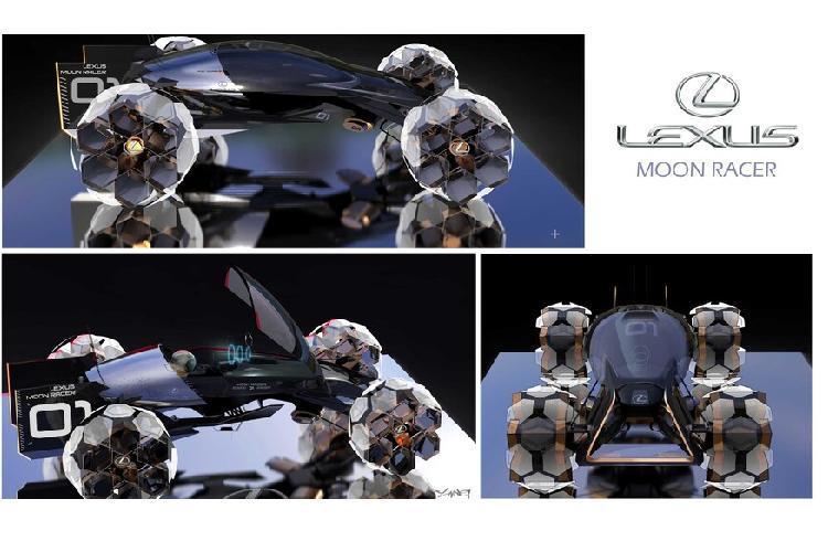 Bất ngờ ý tưởng ôtô lăn bánh thám hiểm Mặt trăng Ảnh 7