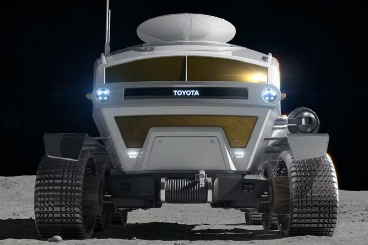 Bất ngờ ý tưởng ôtô lăn bánh thám hiểm Mặt trăng Ảnh 4