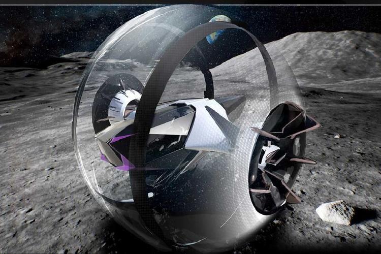 Bất ngờ ý tưởng ôtô lăn bánh thám hiểm Mặt trăng Ảnh 2