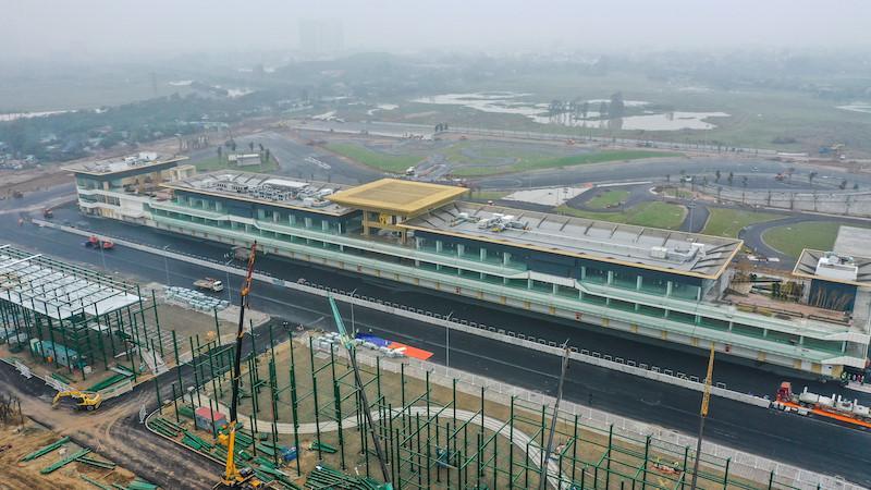 Cận cảnh đường đua F1 của Việt Nam sắp hoàn thành trong tháng 3 Ảnh 3