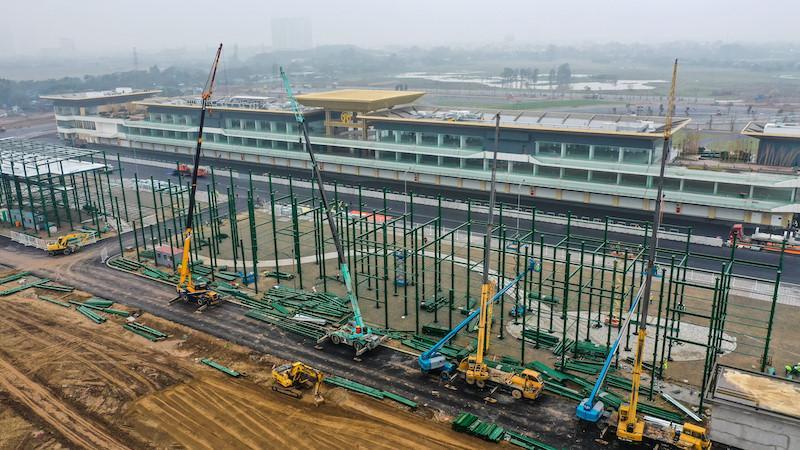 Cận cảnh đường đua F1 của Việt Nam sắp hoàn thành trong tháng 3 Ảnh 1