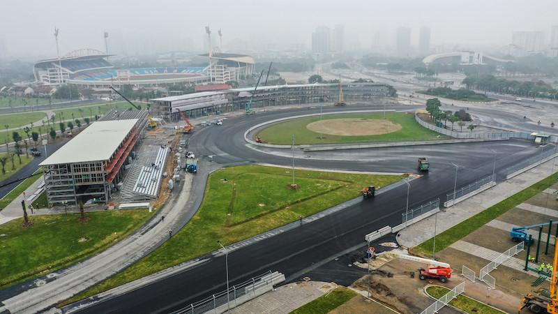 Cận cảnh đường đua F1 của Việt Nam sắp hoàn thành trong tháng 3 Ảnh 2