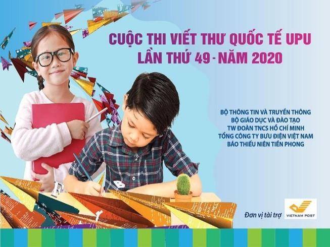 Cuộc thi Viết thư Quốc tế UPU gia hạn vì dịch COVID-19 Ảnh 1