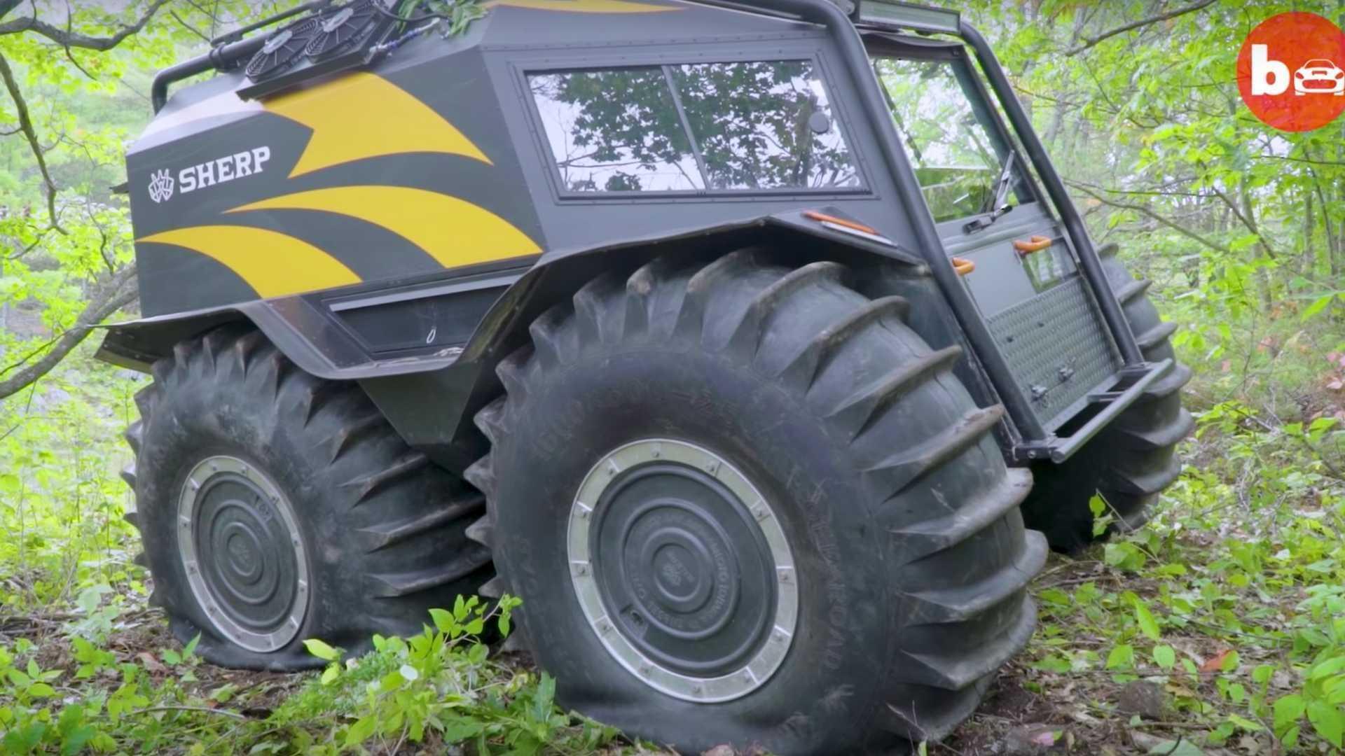 Ấn tượng ô tô Sherp ATV bất chấp mọi địa hình, có thể nổi trên nước Ảnh 3