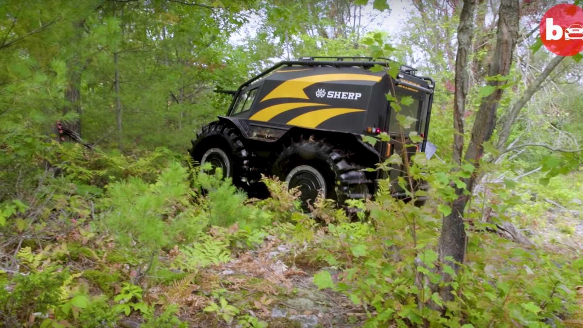 Ấn tượng ô tô Sherp ATV bất chấp mọi địa hình, có thể nổi trên nước Ảnh 4