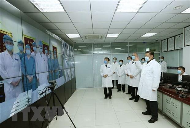 Chủ tịch Trung Quốc kêu gọi tăng cường kiểm soát, phòng ngừa dịch bệch Ảnh 1