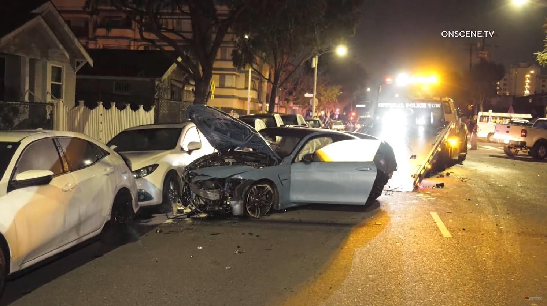 Nữ tài xế lái BMW bay vào không trung bị nghi ngờ dùng ma túy Ảnh 4