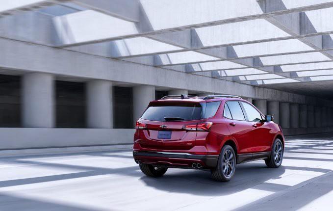Chevrolet hé lộ chiếc Equinox 2021 mới Ảnh 2