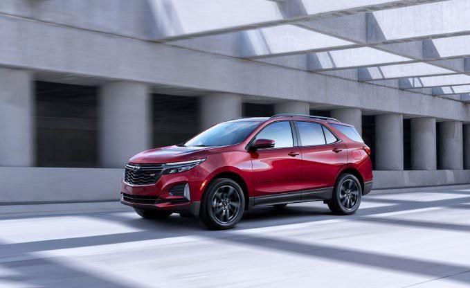 Chevrolet hé lộ chiếc Equinox 2021 mới Ảnh 1