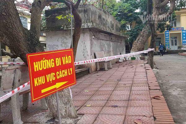 Nam Định cách ly 2 vợ chồng giáo viên từ Sơn Lôi cùng 30 người tiếp xúc Ảnh 1