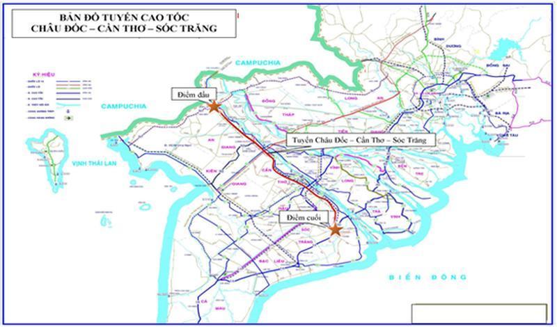 Miền Tây sẽ có thêm 2 tuyến cao tốc hơn 67.400 tỉ đồng Ảnh 2