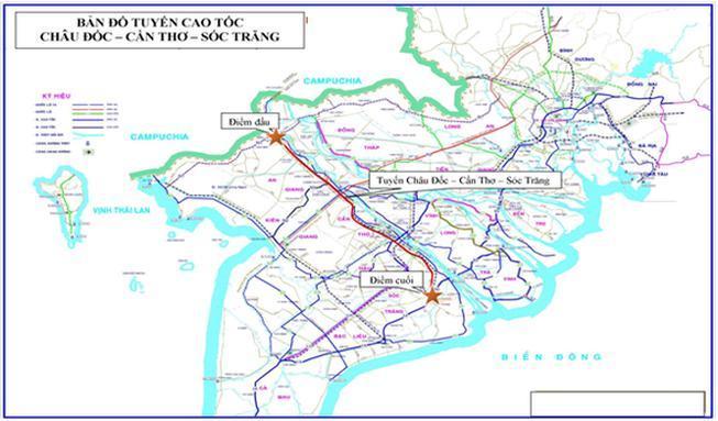 Miền Tây sẽ có thêm 2 tuyến cao tốc hơn 67.400 tỉ đồng Ảnh 1